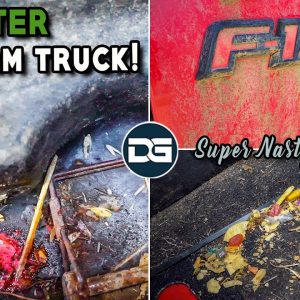 SUPER Cleaning a Nasty Farm Truck! | Disaster Car Detailing a Dirty Ford F-150