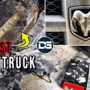 Deep Cleaning The DIRTIEST Work Truck Ever! | INSANE Transformation of a Disaster Ram 1500!