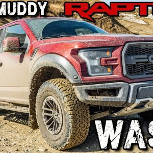 Cleaning My SUPER MUDDY Ford Raptor! | Satisfying Muddy Pressure Washing and Car Detailing