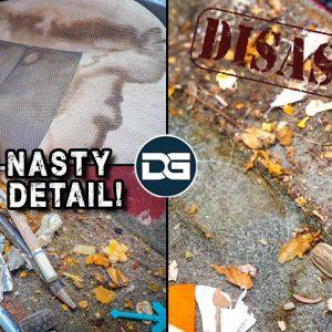 Super Cleaning The NASTIEST Ford Escape! | Disaster Car Detailing and EPIC Vehicle Transformation