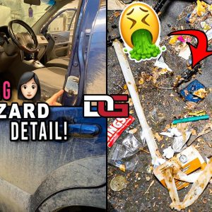 EXTREME Cleaning a Girl's NASTY Car! | Disaster Detailing a Hyundai Tucson