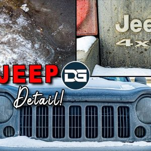 Deep Cleaning a FILTHY Jeep Liberty! | NASTY Car Detailing Transformation of a Dirty Jeep!