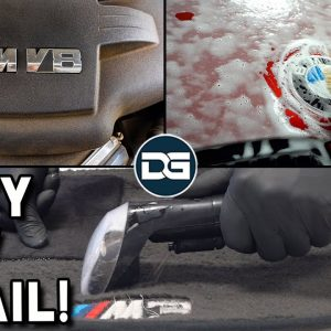 Deep Cleaning a Dirty BMW M3! | Full Vinyl Wrapped Car Detail and Engine Bay Cleaning!
