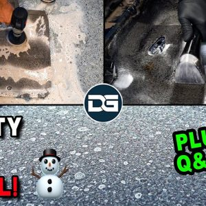 Deep Cleaning a FROZEN Chevy Cobalt! + Q&A! | Seats Out Detail and Full Car Detailing Q&A
