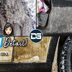 DEEP Cleaning a Luxuriously FILTHY BMW! | Hairy Car Detailing Transformation and BMW Cleaning