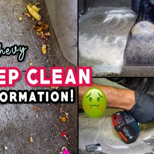Deep Cleaning a FILTHY Chevy Equinox! | Full Interior Car Detailing and Vehicle Transformation