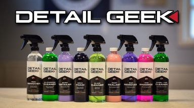 The NEW Detail Geek Chemicals are Here!! | Complete Product Rundown