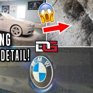 Reviving a DOCTOR'S Dirty BMW! | Deep Cleaning BMW 5 Series Transformation | The Detail Geek