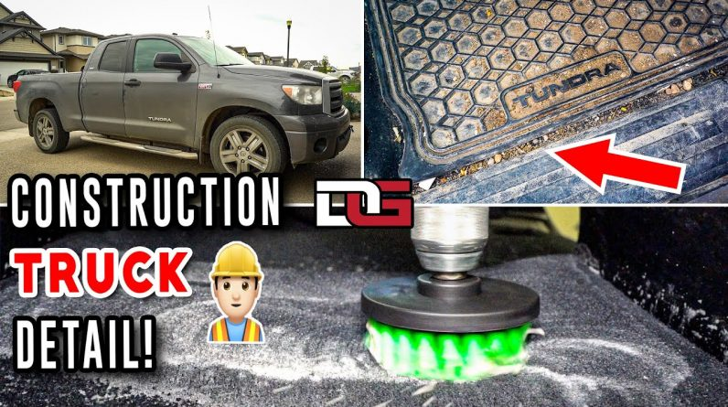 Deep Cleaning a NASTY Truck! | Truck Detailing Transformation | The Detail Geek