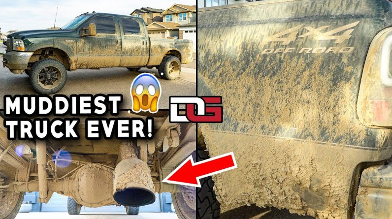 Deep Cleaning the MUDDIEST Truck I've Ever Seen! | INSANELY Muddy Truck Detail | The Detail Geek