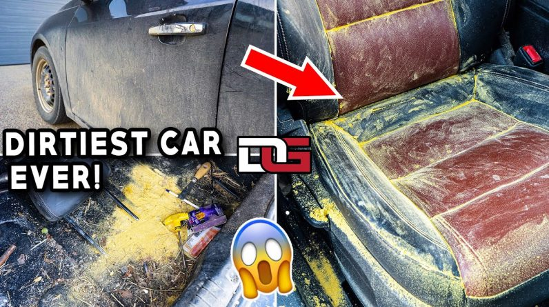 Deep Cleaning The Most INSANELY Dirty Car! | Unreal Car Detailing Transformation | The Detail Geek